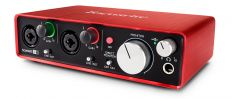 Звуковая карта Focusrite Scarlett 2i2 2nd Gen USB
