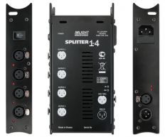Блок усиления сигнала DMX-512 IMLIGHT SPLITTER 1-4-3PIN