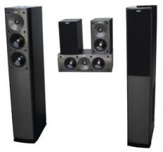 Jamo S 606 HCS 3 High Gloss Black